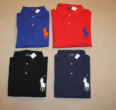 NEW Polo Ralph Lauren Big and Tall Big Pony Classic Fit Polo Shirt