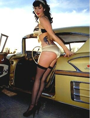 """TIN SIGN """"Goldie Lox Beauty"""" Pinup Babe Deco Garage Wall Decor"""