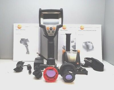 Testo 881-3 Thermal Imager Thermal Camera With Case Spare Lens And Battery