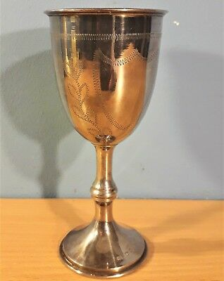 Antique Sterling Silver Goblet / Cup Hallmarked London 1904