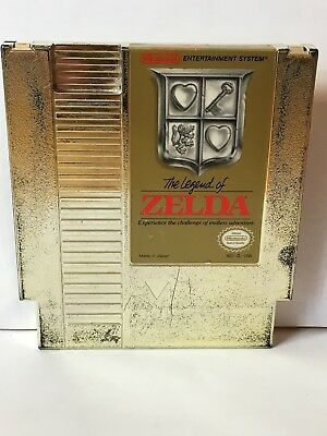 The Legend of Zelda (Nintendo Entertainment System, 1987) Cleaned, Saves, Tested