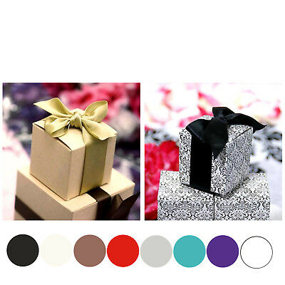 2x2x2 Favor Candy Box For Wedding Event Party Gift Wrap Boxes Treat Boxes-100pc