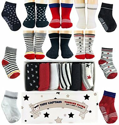 Toddler Boy Non Slip Socks, Best Gift For 1-3 Year Old Boys Baby Boy Gifts