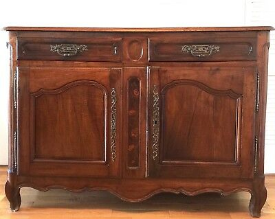 Antique French Walnut Buffet - Provincial Country Style -Louis XVI -18th Century