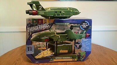 Vivid Toys Thunderbirds Are Go Supersize Thunderbird 2 And 4