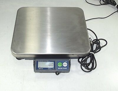 Mettler Toledo Pos Opos 3211 Viva 15Lb Stainless Steel Checkout Scale+Display+Ps