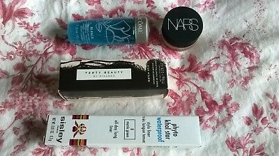 Beauty Bundle! Fenty Beauty! Nars! Sisley! Lancome! Four Products! All Unused!
