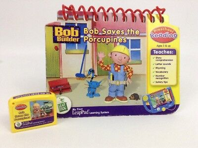 My First LeapPad Leap Frog Bob the Builder Bob Saves the Porcupines Book
