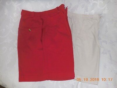 Ladies  summer shorts RED  Size 8 , St.Johns Bay Brand