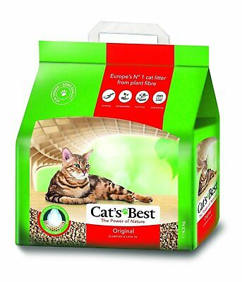 Cats Best Oko Plus Clumping Litter wood based pure organic 4.3 kg
