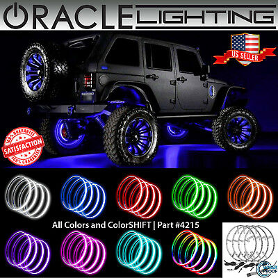 ORACLE Lights Illuminated Rim LED Wheel Rings - All Colors & Sizes - Part #4215