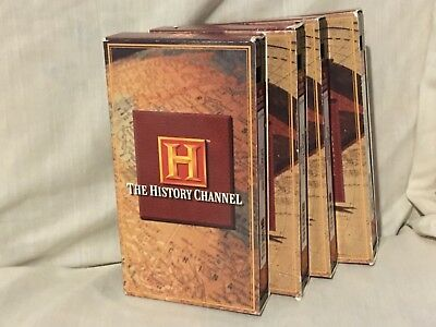 The History Channel - Hitler's Holocaust VHS lot - 4 Episode Set OOP