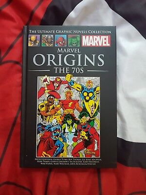 MARVEL ULTIMATE GRAPHIC NOVELS COLLECTION marvel origins the 70s classic #XVIII
