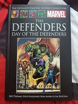 MARVEL ULTIMATE GRAPHIC NOVELS COLLECTION the defenders day of the defenders