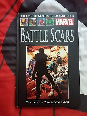 MARVEL ULTIMATE GRAPHIC NOVELS COLLECTION battle scars 75