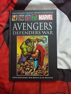 MARVEL ULTIMATE GRAPHIC COLLECTION avengers defenders war #XXVII