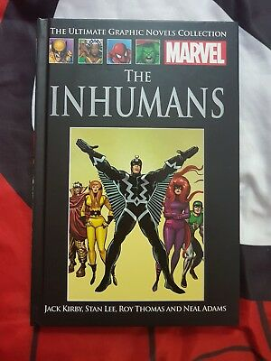 MARVEL ULTIMATE GRAPHIC NOVELS COLLECTION the inhumans #X