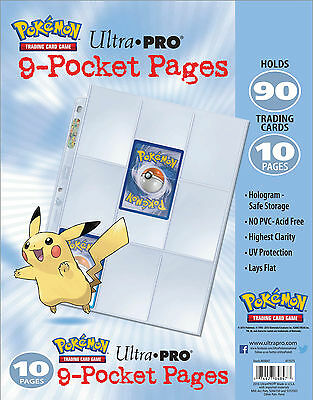 POKEMON TCG - 9-Pocket PAGINE X 250