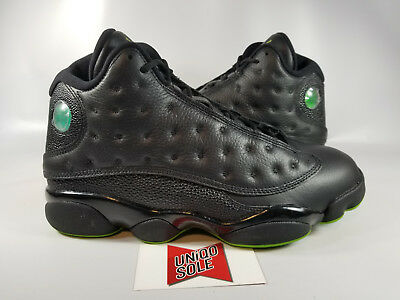 new product adc8a 30284 Nike Air Jordan Retro XIII 13 ALTITUDE GREEN BLACK PLAYOFF BRED 414571-042  sz 9