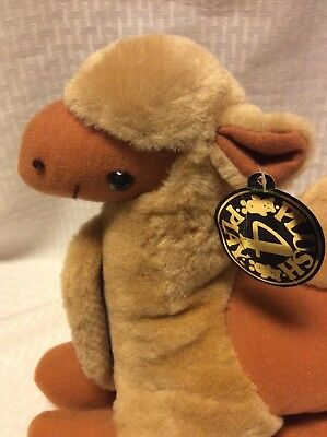 "CAMEL Plush 4 Play Stuffed Animal New with Tag 12"" Sitting NWT 1 Hump"