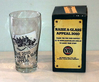 Victoria Bitter The 2010 Raise A Glass Appeal Glass
