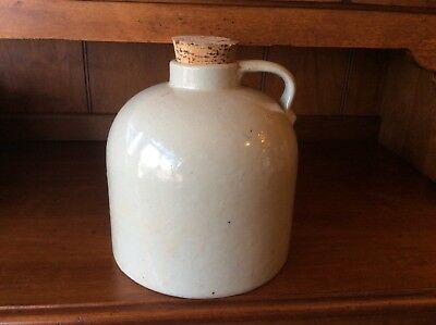 Antique Red Wing Jug with cork Minnesota Stoneware Co.