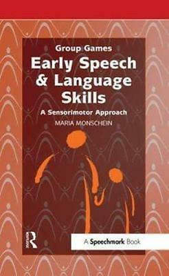 NEW Early Speech & Language Skills By Maria Monschein Paperback Free Shipping