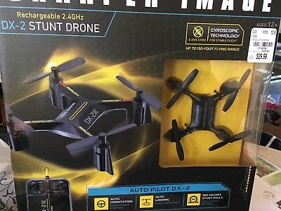 Sharper Image Rechargeable Dx 2 Stunt Drone 24 New 1995 Picclick