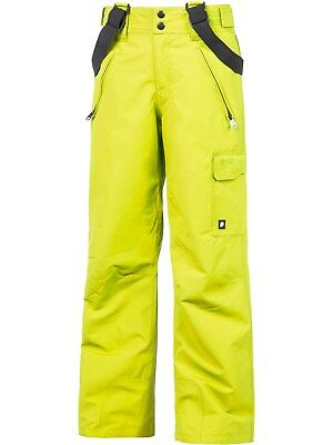 Protest Electic Lime Denysy Kids Snowboarding Pants