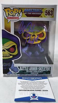 Alan Oppenheimer Skeletor Signed Funko Pop Motu Bas Coa 464