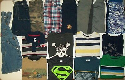 Boys clothes lot size 4T boys Summer clothes size 4 Baby GAP Gymboree NIKE