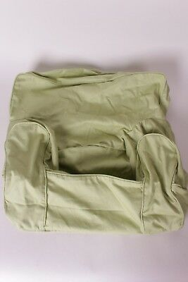 NWT Pottery Barn Kids My First Anywhere Chair Slip Cover Solid Twill Green