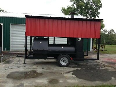 Midwest Smoker grill trailer - Central Illinois Pick-up