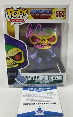 Alan Oppenheimer Skeletor Signed Funko Pop Motu Bas Coa 444