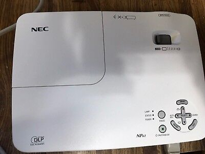 NEC projector model NP61 DLP With Case Used