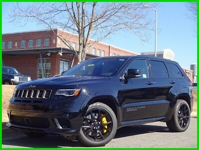Jeep Grand Cherokee JEEP TRACKHAWK NEW V8 HEMI SUPERCHARGED HARMAN KARDON GPS 2018 JEEP GRAND CHEROKEE SRT TRACKHAWK WE FINANCE & TRADE