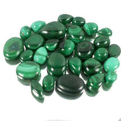 103.20 Cts/28Pcs Natural Artistic Binding Malachite Mix Cab Gems Lot For Jewelry