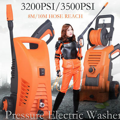 PRO.High Pressure Clean Master Electric Water Washer Gurney Pump Hose Cleaning
