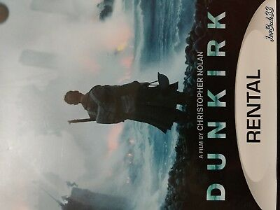 DUNKIRK (DVD 2017) Free Fast Shipping