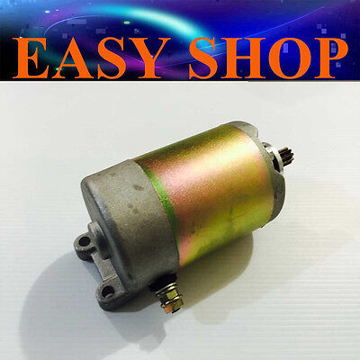 9 Teeth Start Starter Motor GY6 250cc Water Cooled Scooter ATV Quad Kymco Buggy