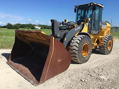 2009 John Deere 624K Wheel Loader Wheel Loaders