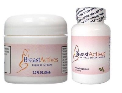 Breast Actives Tropical Cream & Dietary Supplement