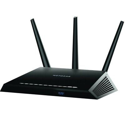 New Netgear R7000 Nighthawk Wireless AC1900 Dual Band Gigabit Router AU STOCK