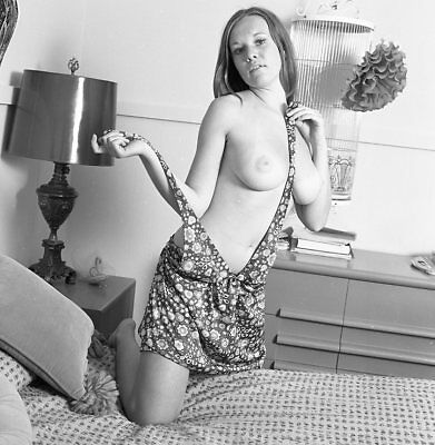 1960s Ron Vogel Negative, busty nude pin-up girl Pollyann Roberts, t999541