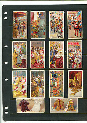 Cigarette Cards Vintage Wills Coronation Series X 14 Cards Lot 110