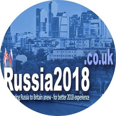 Russia2018.co.uk - very hot internet domain for an unique celebrity travel blog!