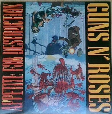 Guns N Roses Appetite For Destruction New Vinyl Lp