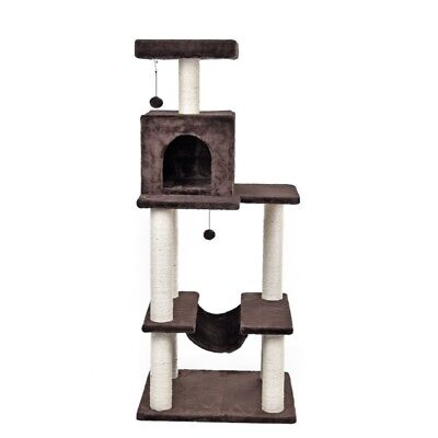 Cat Scratching Post Tree Gym Pole Condo Furniture Tower Pet Kitten Puss Play Toy