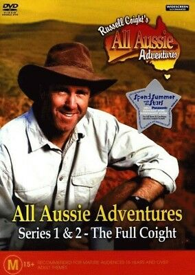 Russell Coight's All Aussie Adventures - Series 1 & 2 = NEW DVD R4