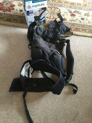 Ergo Baby 360 4 Position Carrier Black Well Used Faded In Areas Functions Fine